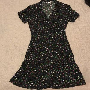 Gap floral dress- size small